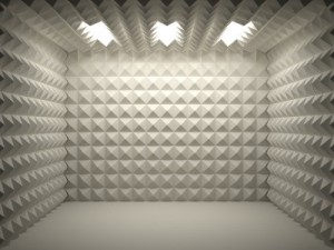 Acoustical foam room